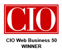 IDG's CIO Magazine CIO Web Business 50 winner